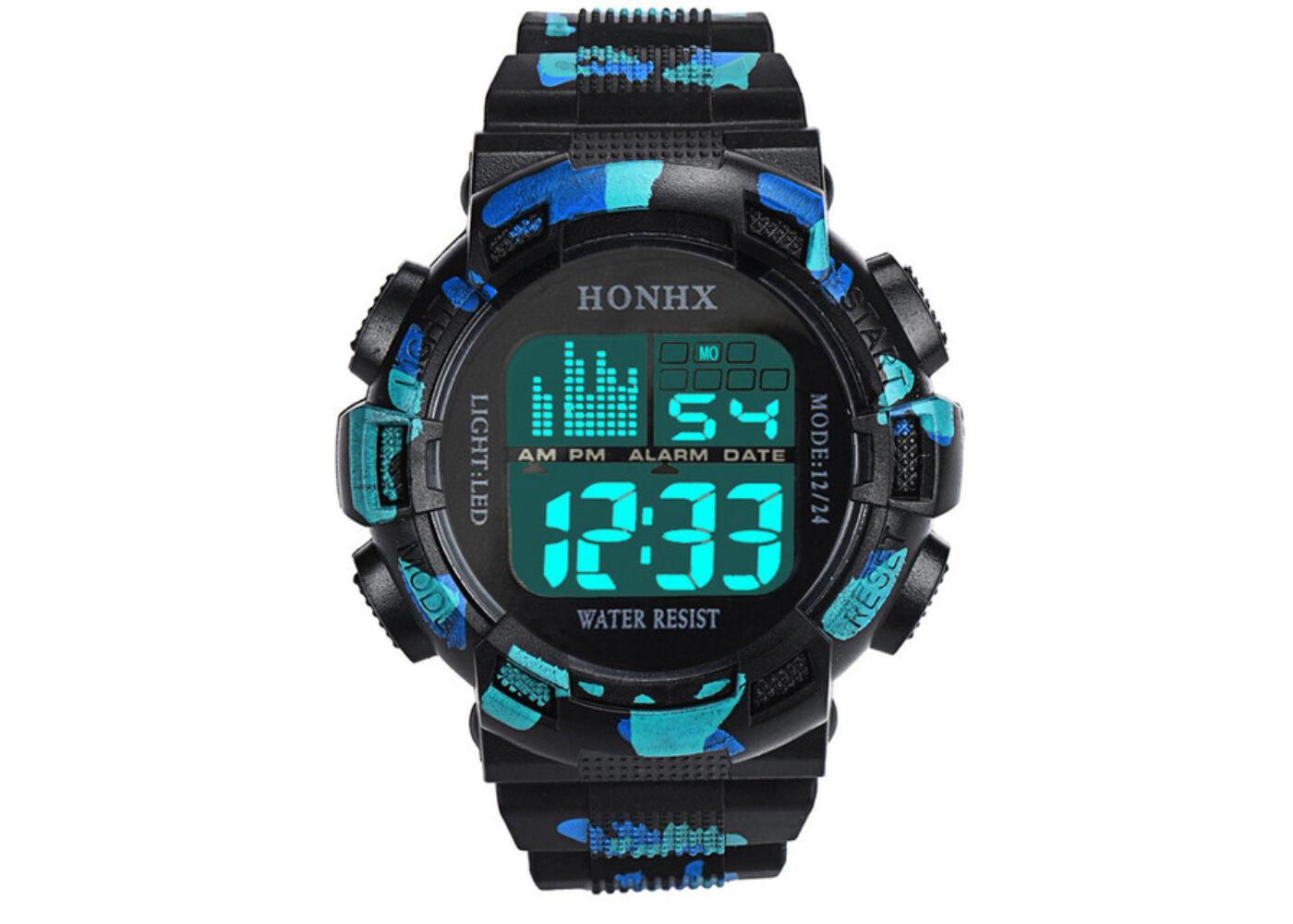 Honhx zöld-kék digitális sport karóra - cseppálló Katt rá a felnagyításhoz 295d4f7163