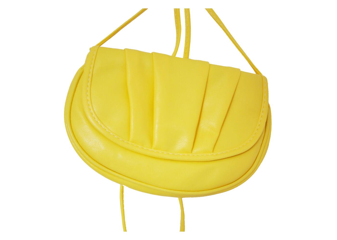 Sárga kis méretű oldaltáska - Női táskák - WebMall Webáruház ... 9c1b5f09ce
