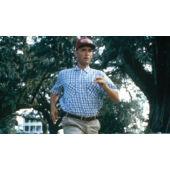 Bubba Shrimp (Forrest Gump) baseball sapka, piros