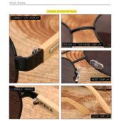 HD.crafter bambusz keretes női napszemüveg. Leáraztuk!