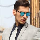 BRUNO DUNN polarizált arany-keretes napszemüveg, ultrakönnyű