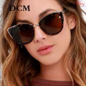Divatos retro macskaszem színátmenetes női napszemüveg, 2020-as design