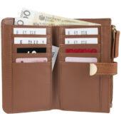 Marks&Spencer női pénztárca (10x16 cm), barna
