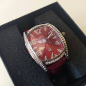 Eredeti Chronotech varázslatosan szép, bőrszíjas, elegáns prémium női óra, dobozzal, most harmadáron lehet a Tiéd. (33mm) 3 ATM