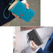 Kék színű pénztárca