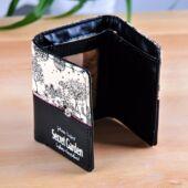 Secret Garden, fekete-bézs pénztárca