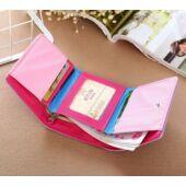 Pink három cicás pénztárca