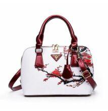 Cseresznyevirágos luxus műbőr táska (leáraztuk kis szépséghiba miatt) b68a54d79f