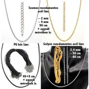 Igaz szerelemmel-medál-lánccal-vagy-választható-karkötőre-fülbevalóra