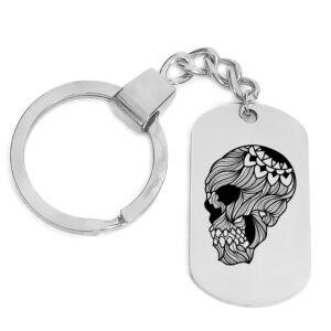 Skullmandala-kulcstartó-több-színben