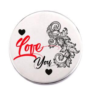 love-you-acél-kitűző