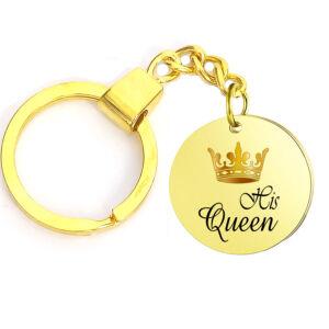 his-queen-kulcstartó-több-színben