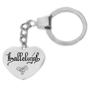 hallelujah-kulcstartó-több-színben