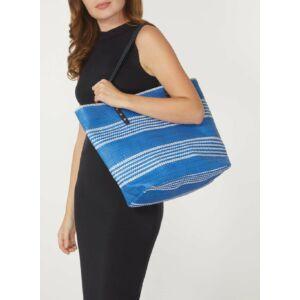 bevásárló táska, kék
