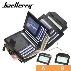Divat dizájnbőr pénztárca, 13x10 cm