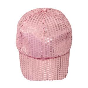 Divatosan csillogó baseball sapka, pink