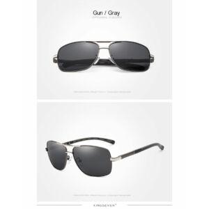 férfi napszemüveg, polarizált lencse,