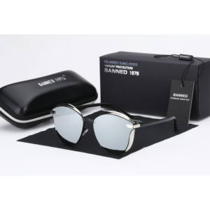 tükörlencsés női luxus napszemüveg, polarizált