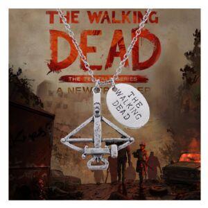 The Walking Dead jellegű medál