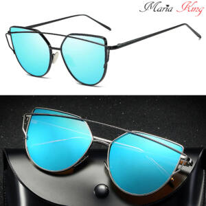 cat eye napszemüveg, fekete kerettel, k