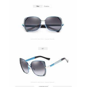 pillangó fazonú színátmenetes polarizált női napszemüveg
