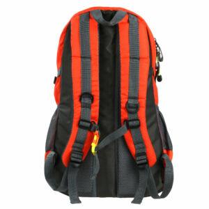 Vízálló narancssárga sport hátizsák (49x30x19 cm)