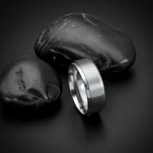 Nemesacél karikagyűrű több méretben, ezüst