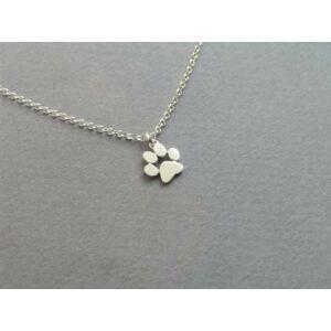 Tappancs medálos nyaklánc, ezüst színű