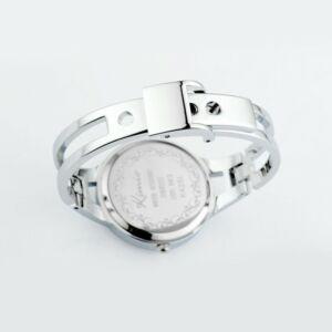 Kimio nemesacél karkötős óra, kék - cseppálló, ütésálló