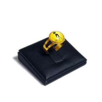 Kecses-cica-üveglencsés-gyűrű-választható-arany-és-ezüst-színben