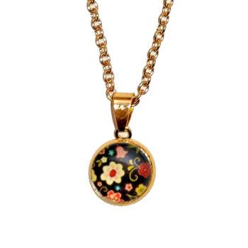 színes-virágos-medál-lánccal-ezüst-és-arany-színben-választható