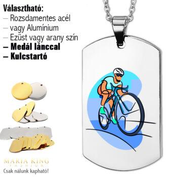 Kerékpáros-dögcédula-medál-lánccal-vagy-kulcstartó