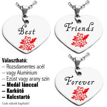 Best-Friends-rózsás-páros-medál-lánccal-vagy-kulcstartó