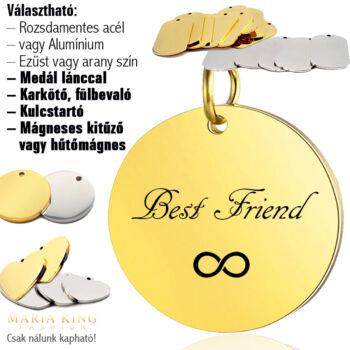Best-Friend-legjobb-barát-kör-medál-lánccal-vagy-kulcstartó