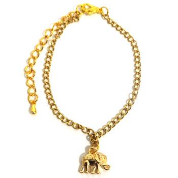 Elefánt  -karkötő-medál-választható-láncra-vagy-karkötőre