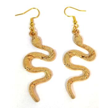 Kígyó -fülbevaló