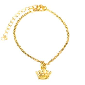 Aranykorona -karkötő-medál-választható-láncra-vagy-karkötőre
