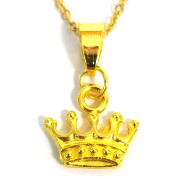 Aranykorona -medál-választható-láncra-vagy-karkötőre-kulcstartóra