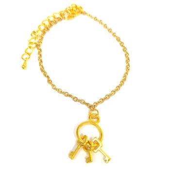 Kulcscsomó -karkötő-medál-választható-láncra-vagy-karkötőre
