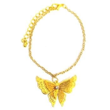 Aranypillangó -karkötő-medál-választható-láncra-vagy-karkötőre