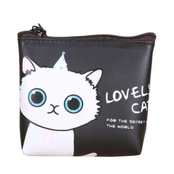 Lovely cat cicás pénztárca, fekete
