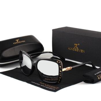díva dizájn női napszemüveg, ezüst tükörlencsével