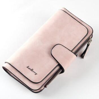 Dizájn bőr divat női pénztárca, pink
