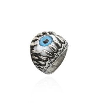 Nemesacél 'szem' gyűrű