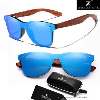 fakeretes napszemüveg polarizált kék lencséve