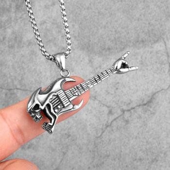 gitár-medál