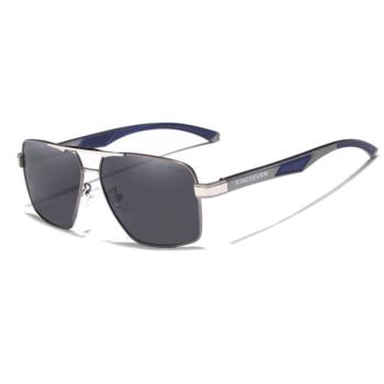 polarizált fekete lencsés férfi napszemüveg