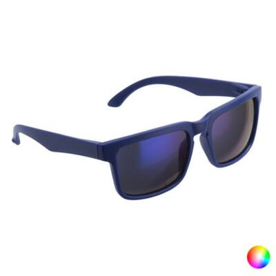 Tükörlencsés klasszikus fazonú uniszex napszemüveg (kék)