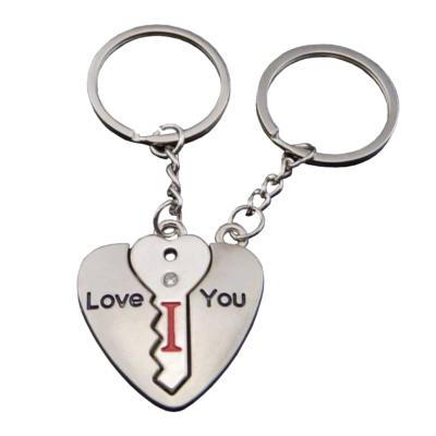Szeretlek (I Love You), 2 db-os kulcstartó pároknak