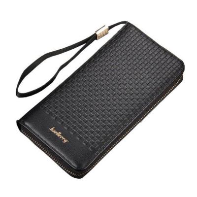 Elegáns bordázott férfi pénztárca, 20,5x10,5x2,5 cm